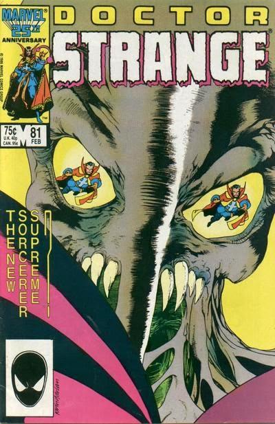 Portada de Doctor Strange Vol1-81