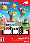 New Super Mario Bros. Wii, I enjoy Mario games a lot and have loved playing .