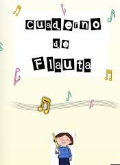 Cuaderno de flauta