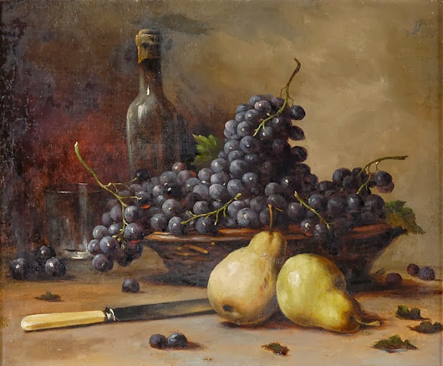 Fruit, painting