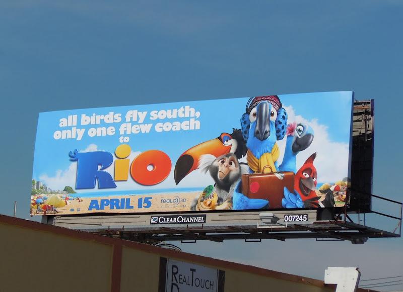 Rio film billboard