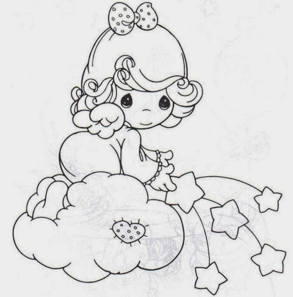 Doll For Kid Coloring Drawing Free wallpaper