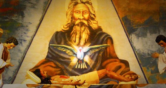 Representación artística del Dios cristiano | Ximinia