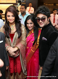 Aishwarya Rai at Kalyan Jewellers showroom at Dubai