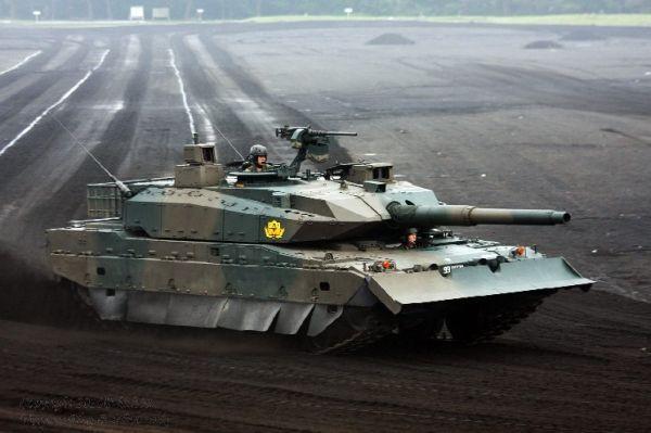10 MBT-X Japan Future Main Battle Tank