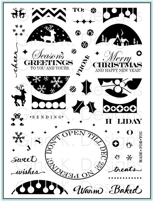 My Newest Set: Fabulous Holiday Labels