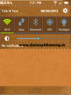 Classic Leather and Jeans Theme + Icon Pack For All Custom Rom of Galaxy Y