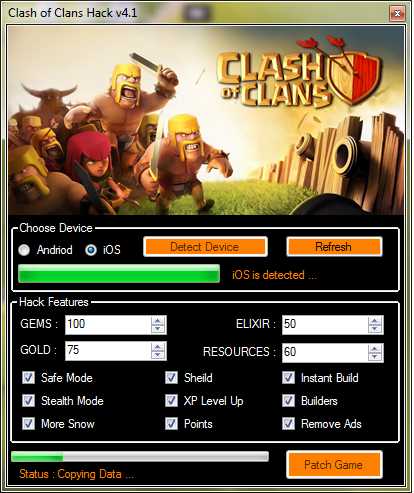 How To Use Clash of Clans Hack tool :