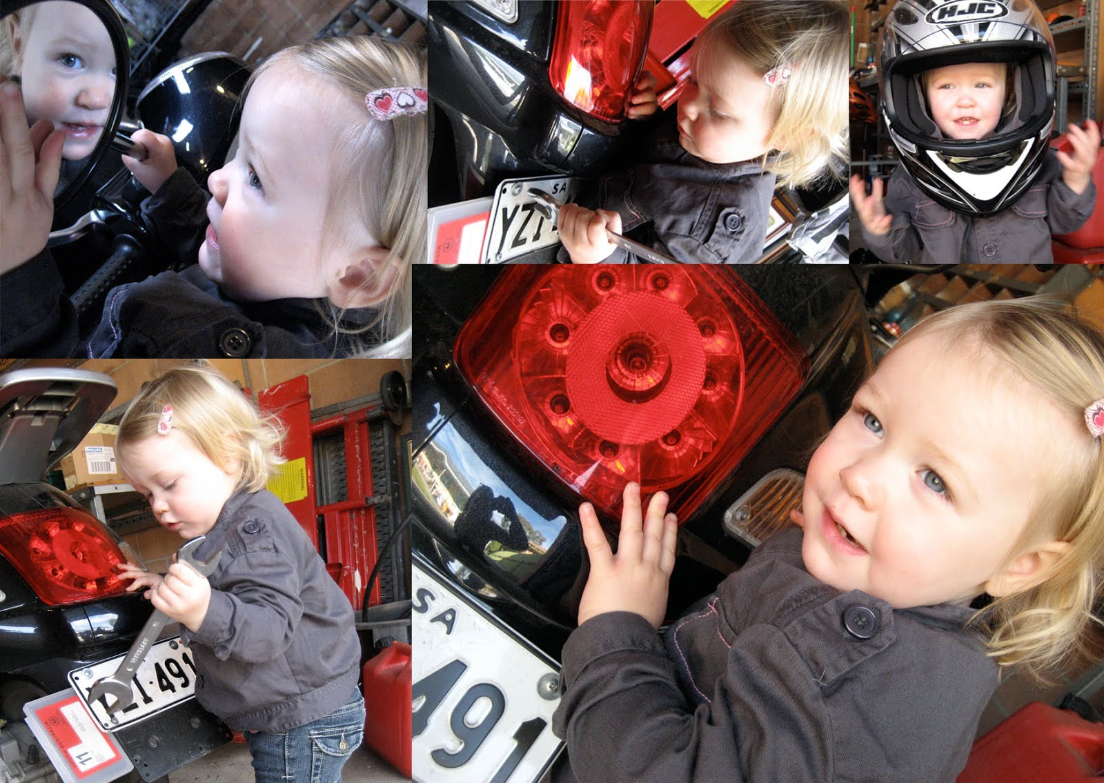 Father's Day: Little Mechanic