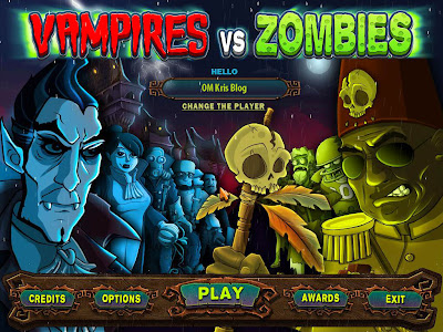 Vampires VS Zombies OM Kris blog