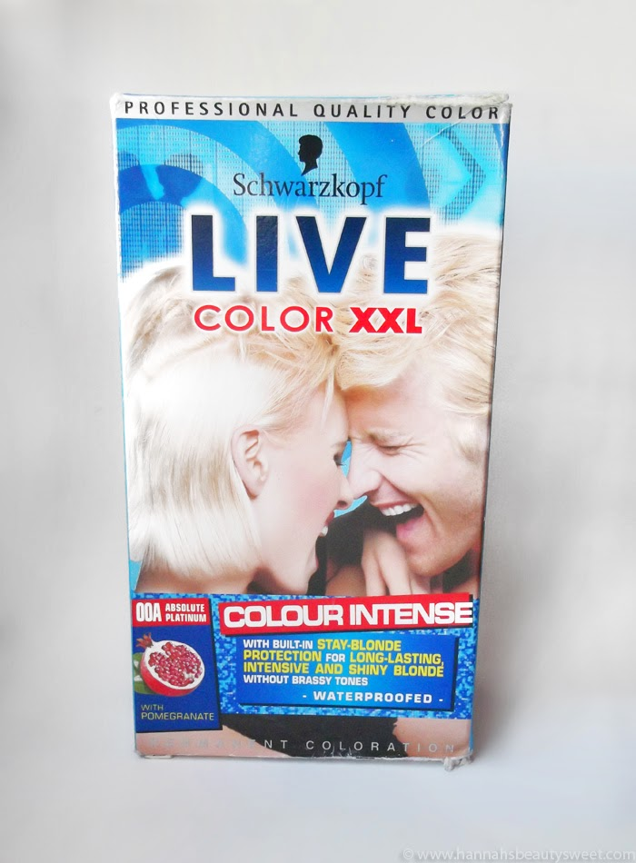 Schwarzkopf Live Absolute Platinum dye