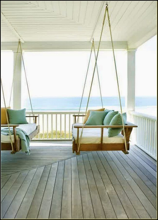 Rope porch swing la furniture idea for Rope swing plans