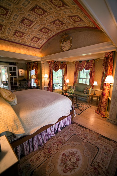 master bedroom at the Claiborne House