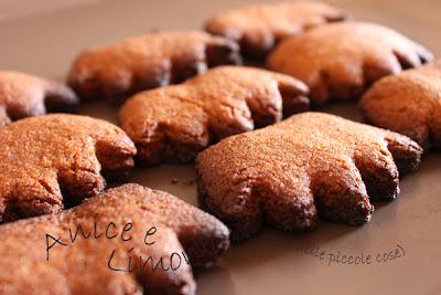 biscottini integrali di Kamut -senza burro