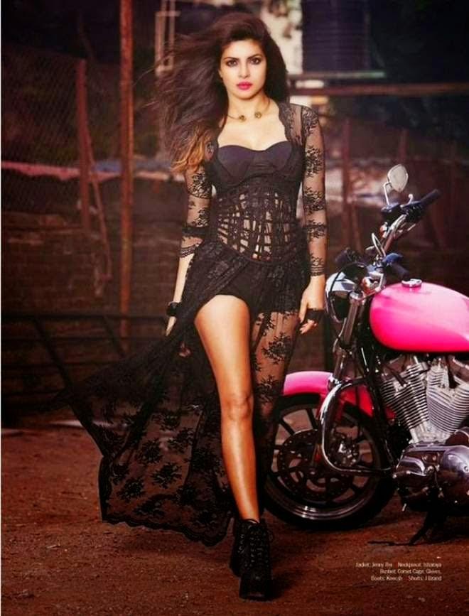 Priyanka Chopra Sexy Photo Shoot for Filmfare Photos