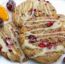 Christmas Biscuit Recipe - Festive Cranberry and Orange Cookies