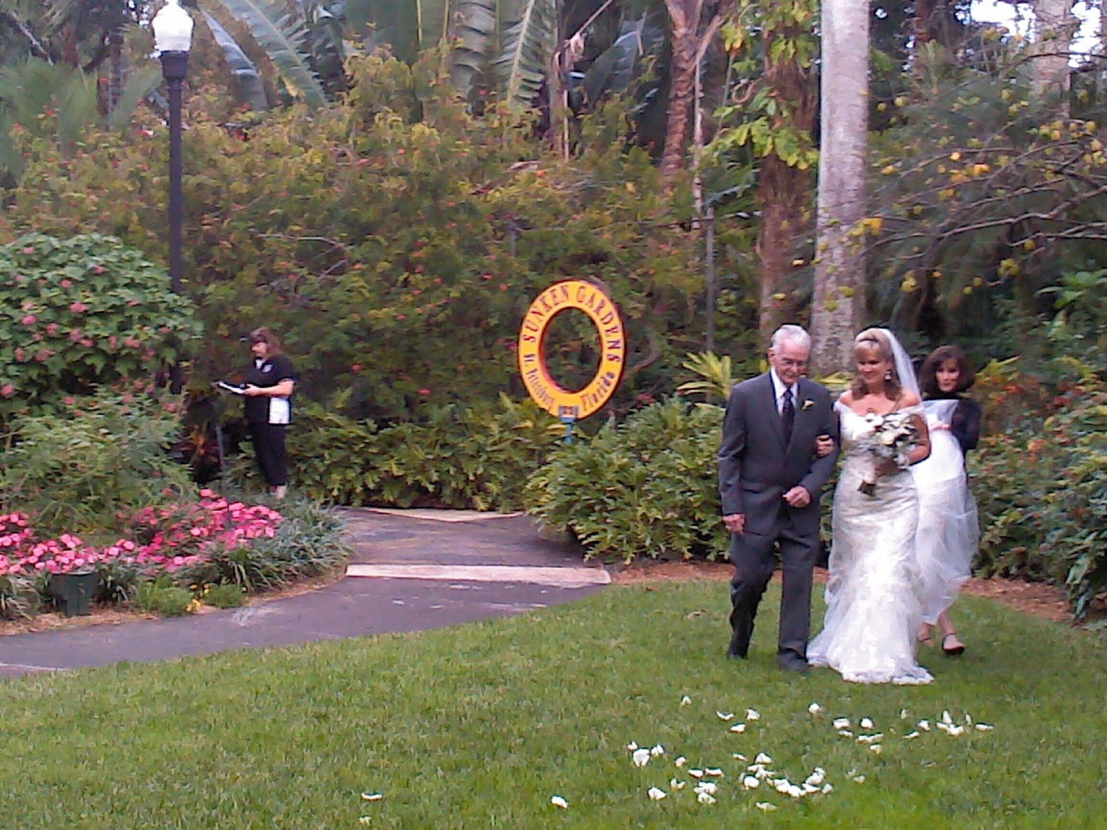 Music On The Move: DJ Entertainment for a Wedding at Sunken Gardens ...