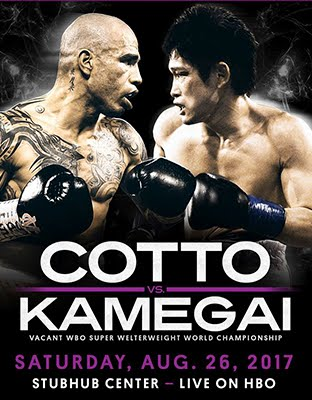Ver Cotto vs Kamegai En Vivo Online Aug. 26