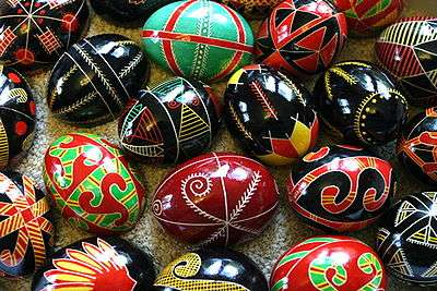 Telur Paskah yang Cantik dan Unik