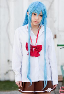 Asae Ayato cosplay as Touwa Erio from Denpa Onna to Seishun Otoko