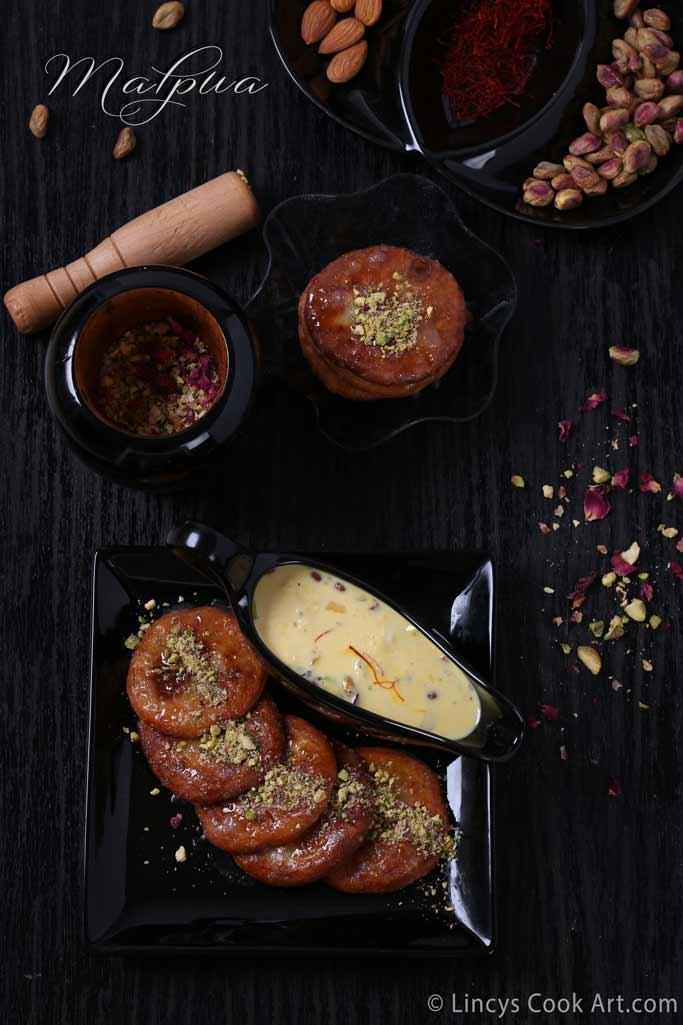 Malpua with rabri recipe