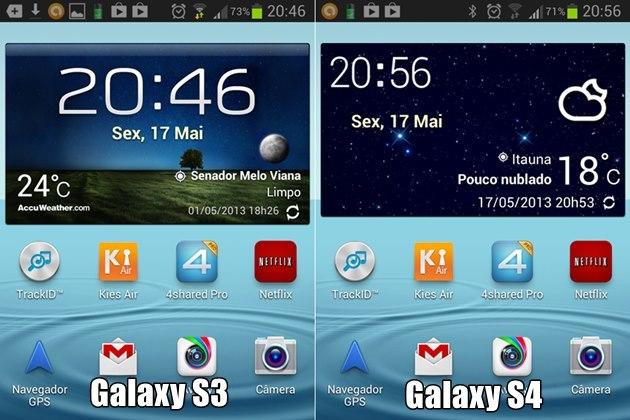 Instale O Widget De Tempo Weather Do Galaxy S4 No Seu