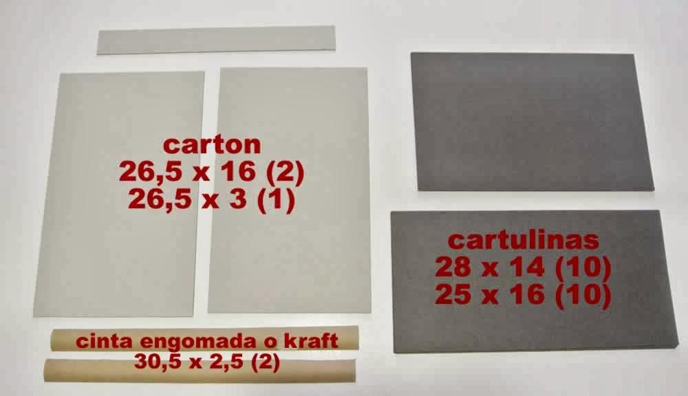 de cartonaje: paso a paso muy sencillo para hacer una carpeta de