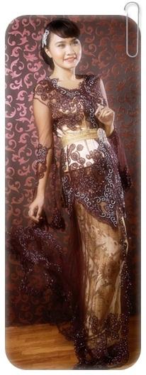Koleksi model kebaya pengantin modern lengkap