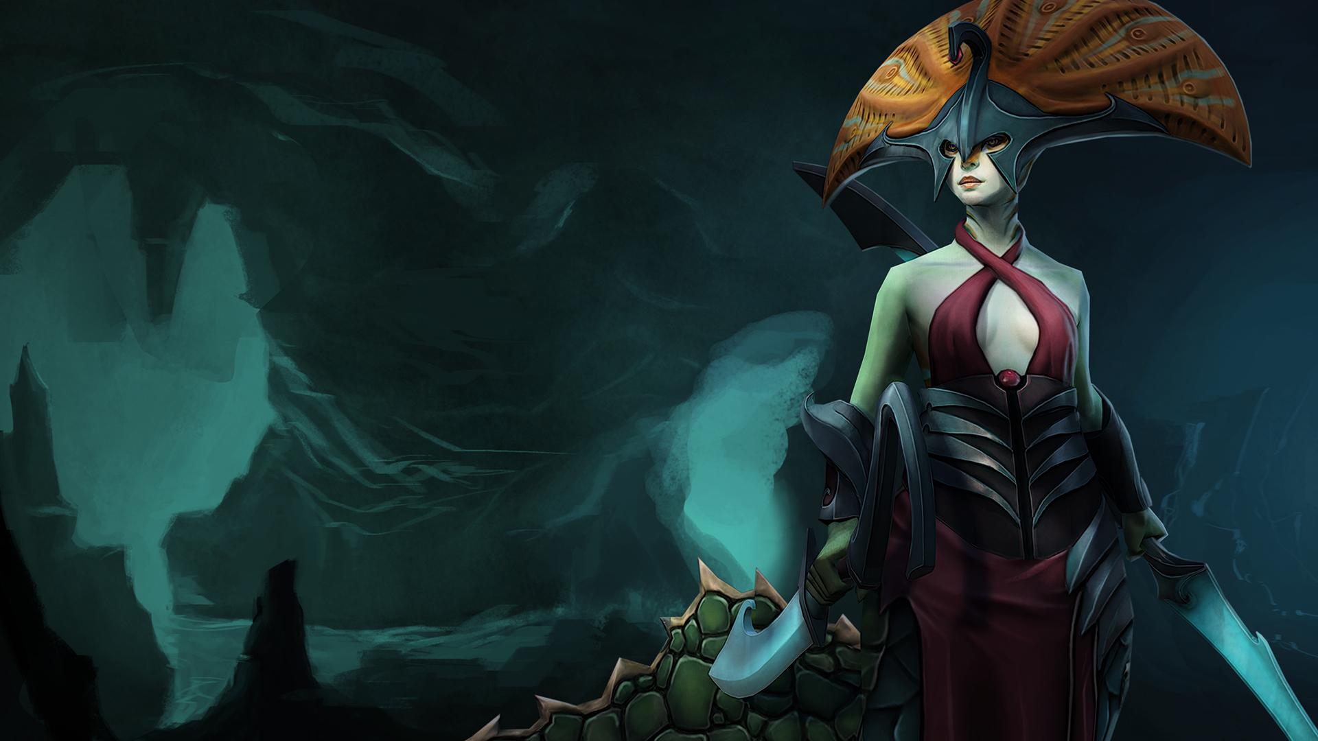 Dota 2 Naga Siren Set 7u Wallpaper HD