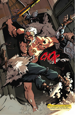 Beowulf from Sword of Sorcery #0