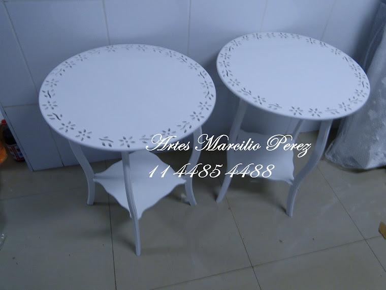 mesa redonda R$ 170,00 cada diametro de 60 e 75A
