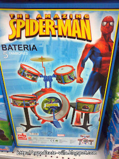 bateria spiderman