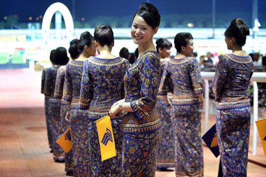 Seragam Baju Pramugari Singapore Airlines