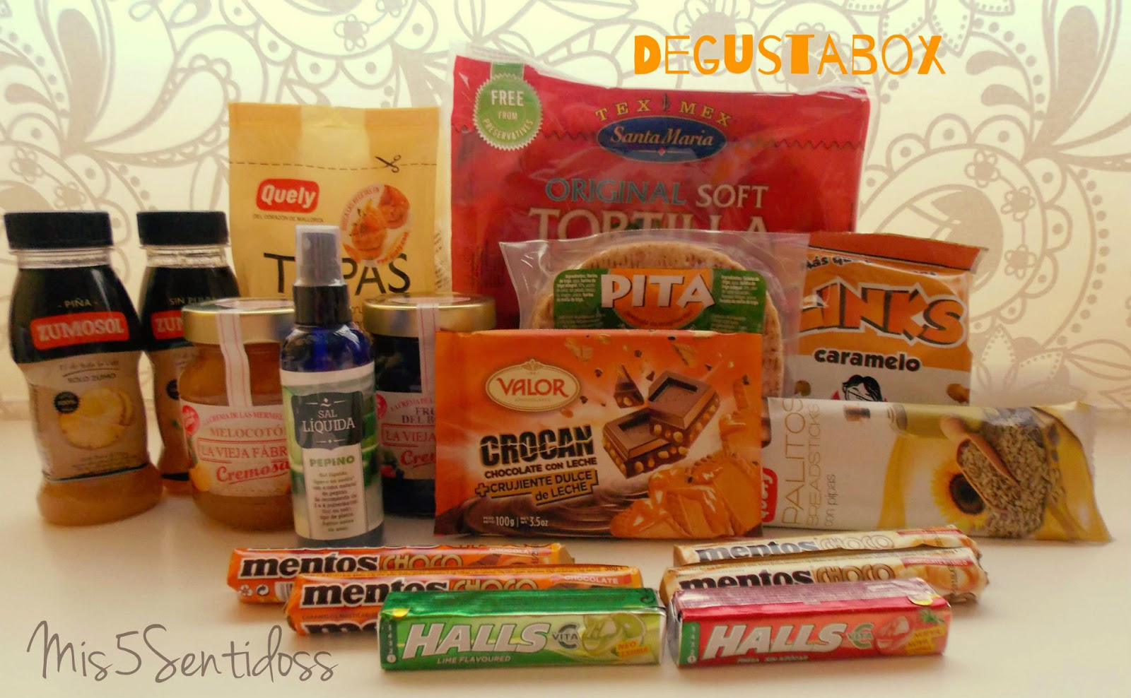 Degustabox Octubre 2014