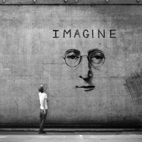 Você talvez diga que sou um sonhador...