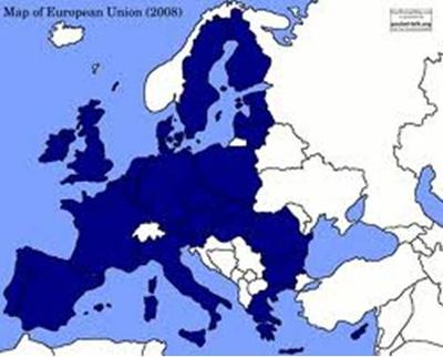 Map of European Union (2008)