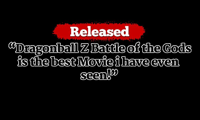 dragon ball z battle of the gods english dub
