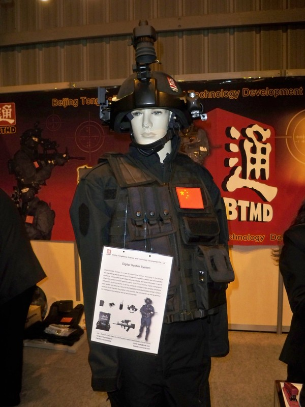 Police Chinoise  Beijing+TongMeiDa+presents+the+latest+in+Chinese+Digital+Soldier+System+technology+at+Milipol+2011