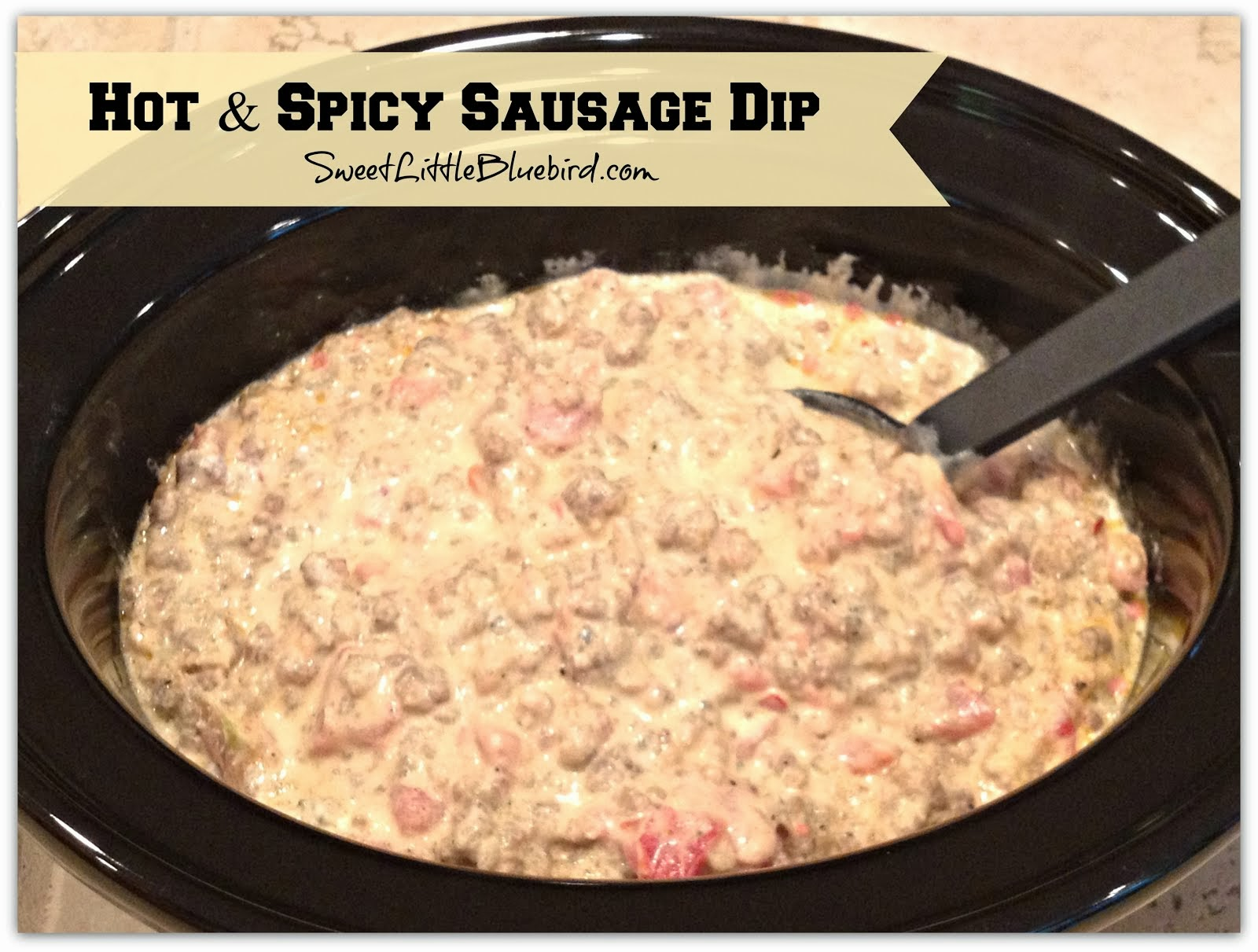 Hot Spicy Sausage Dip