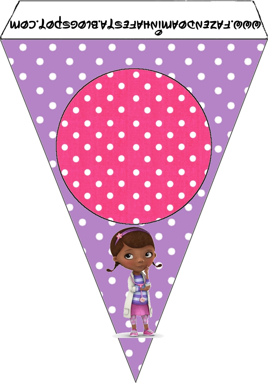 This is a picture of Accomplished Doc Mcstuffins Party Printables