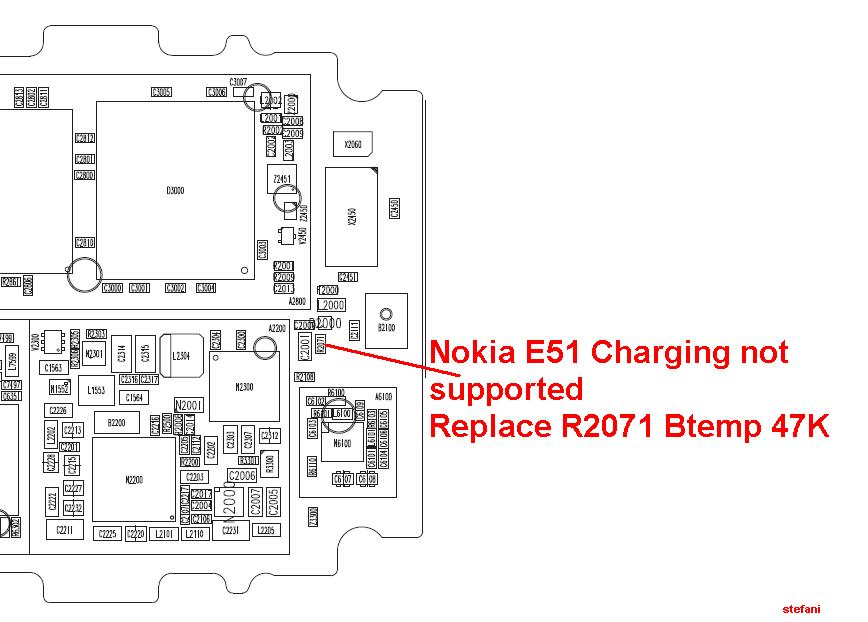 Nokia E51 Charging not supported
