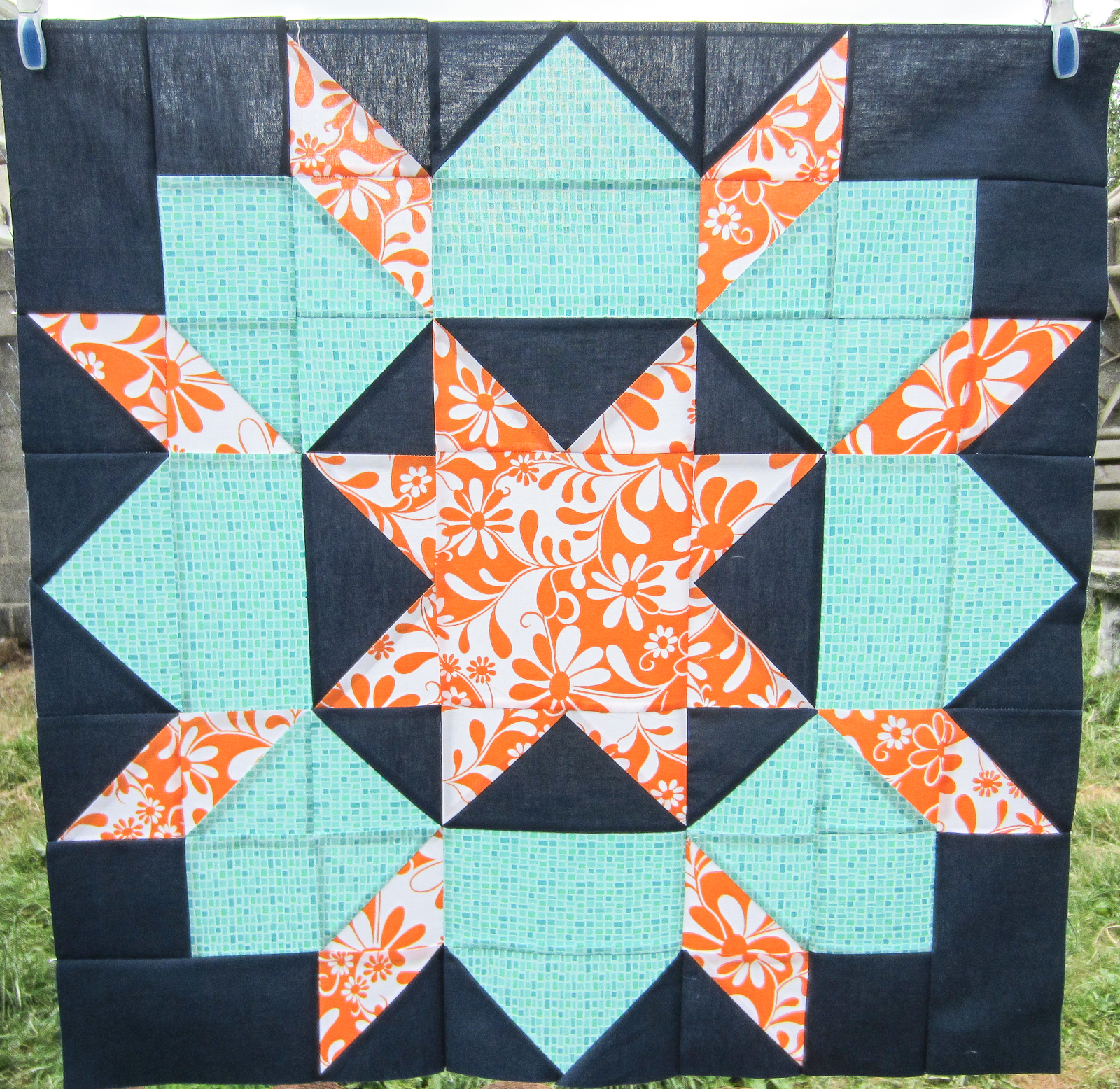 Modern Quilters Ireland Dutch Rose Swoon Blocks
