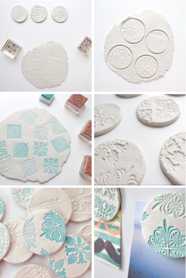 how to use air dry clay