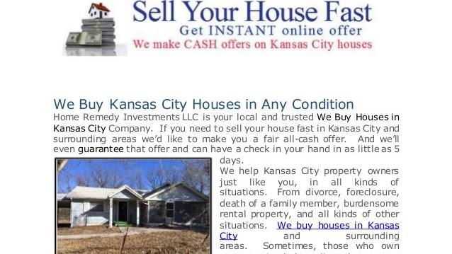 Creative Real Estate Investing - We Buy Houses Kansas City