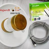 Paket Client WajanBolic Wifi + usb Wifi 150mbps