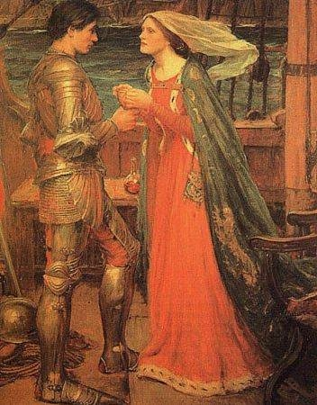 Most Famous Immortal Love Stories In History And Literature Tristan and Isolde