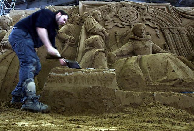 Esculturas de arenas