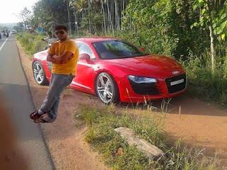 Presumiendo de coche