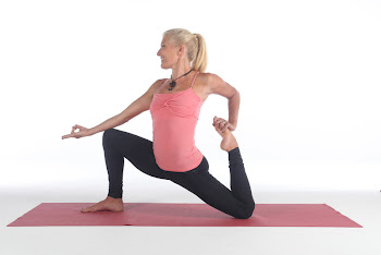 The recent photo shoot with Esprit Yoga