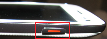 Power button of Android phone